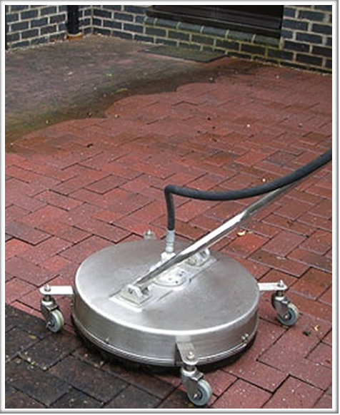 Rotery cleaner for driveway cleaning Brighton & Hove