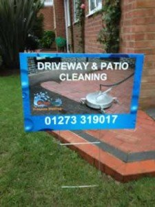 Driveway cleaning Brighton & Hove