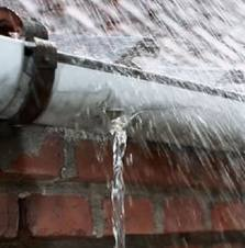 Over flowing blocked gutters - Crawley